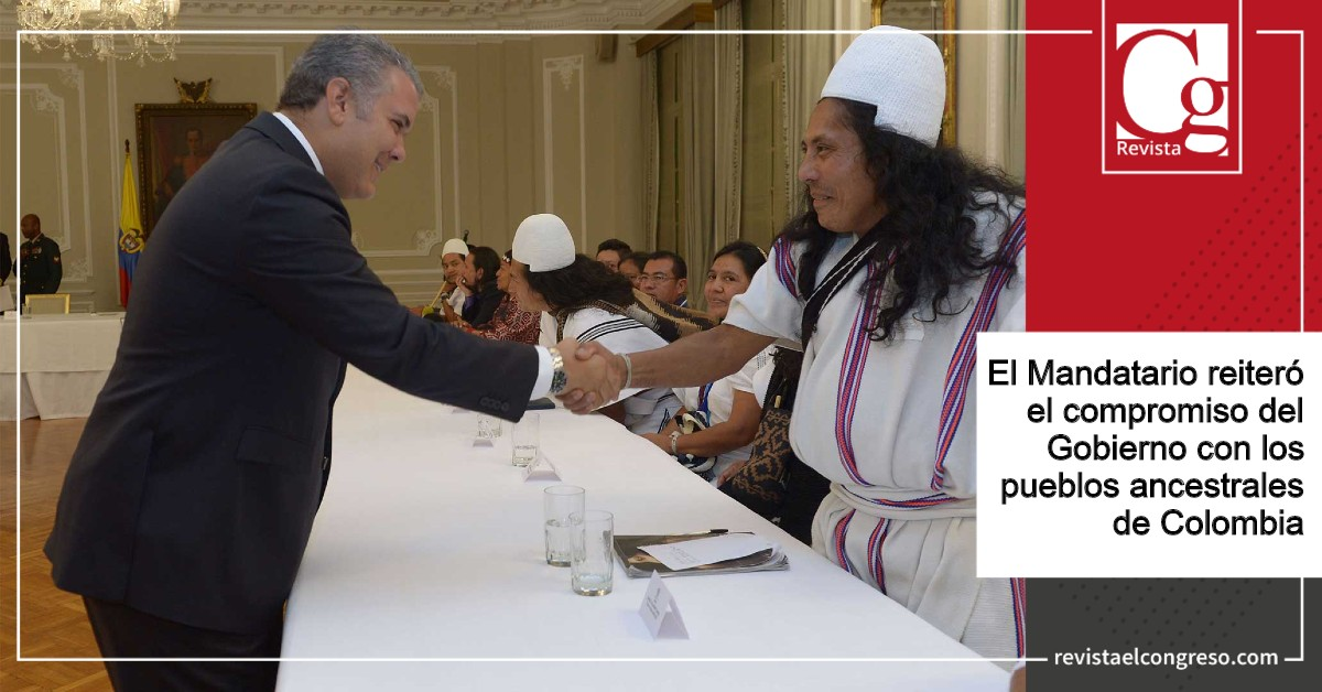 Presidente Duque entregó a la comunidad arhuaca la primera sede de la Registraduría Nacional del Estado Civil en un pueblo indígena