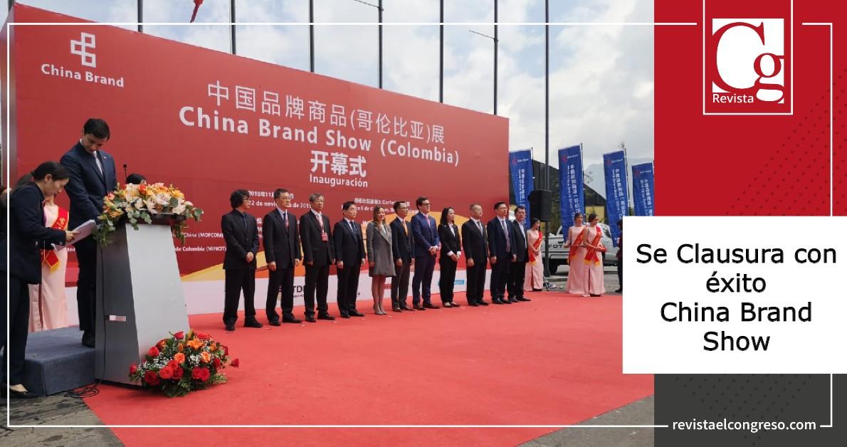 Se Clausura con éxito China Brand Show