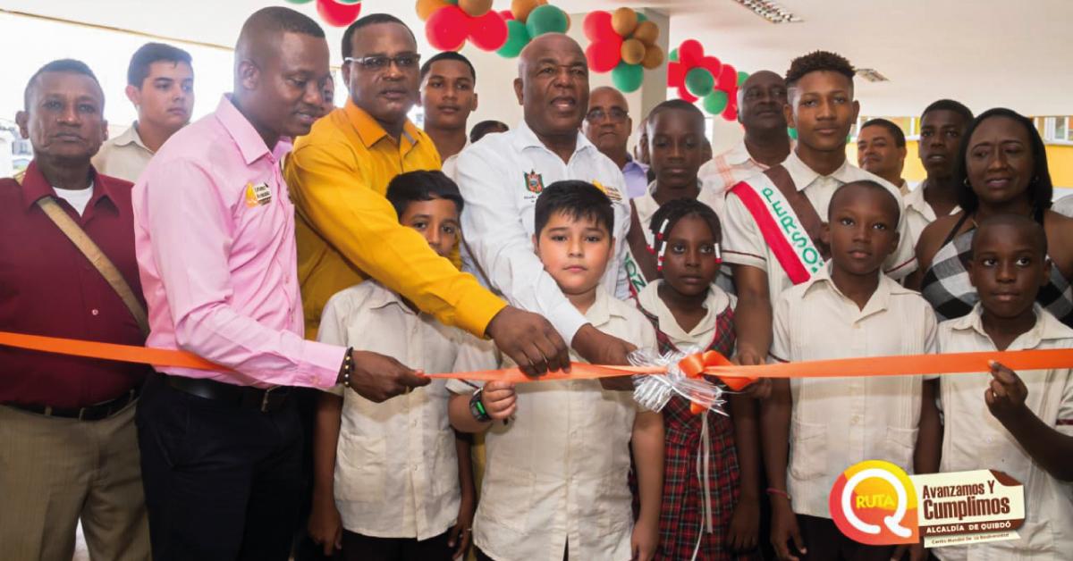 Inauguración infraestructura educativa Megacolegio MIA.