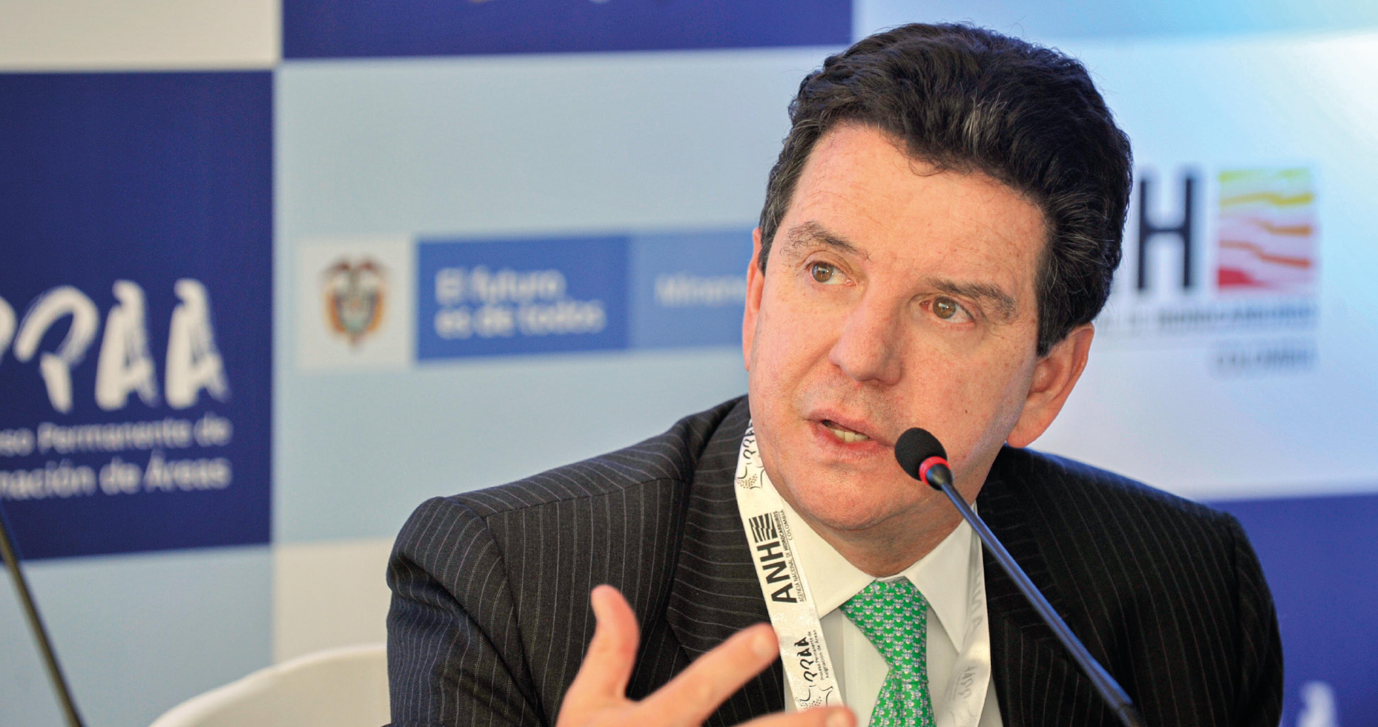 Luis Miguel Morelli, presidente de la ANH durante el segundo ciclo de subasta PPAA.