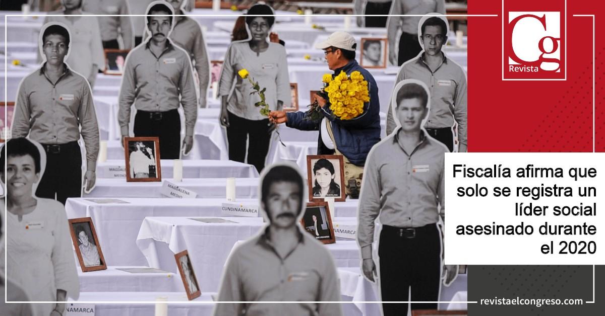 Fiscalía-afirma-que-solo-se-registra-un-líder-social-asesinado-durante-el-2020.