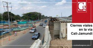 Cierres viales en la vía Cali-Jamundí