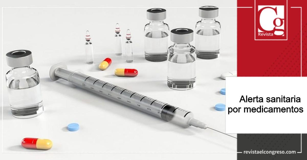 Alerta sanitaria por medicamentos