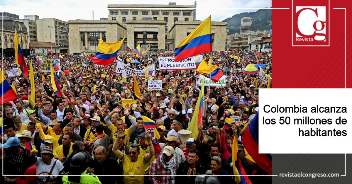 Colombia alcanza los 50 millones de habitanteswww