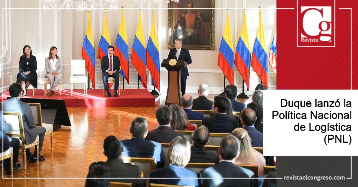 Duque lanzó la Política Nacional de Logística (PNL)