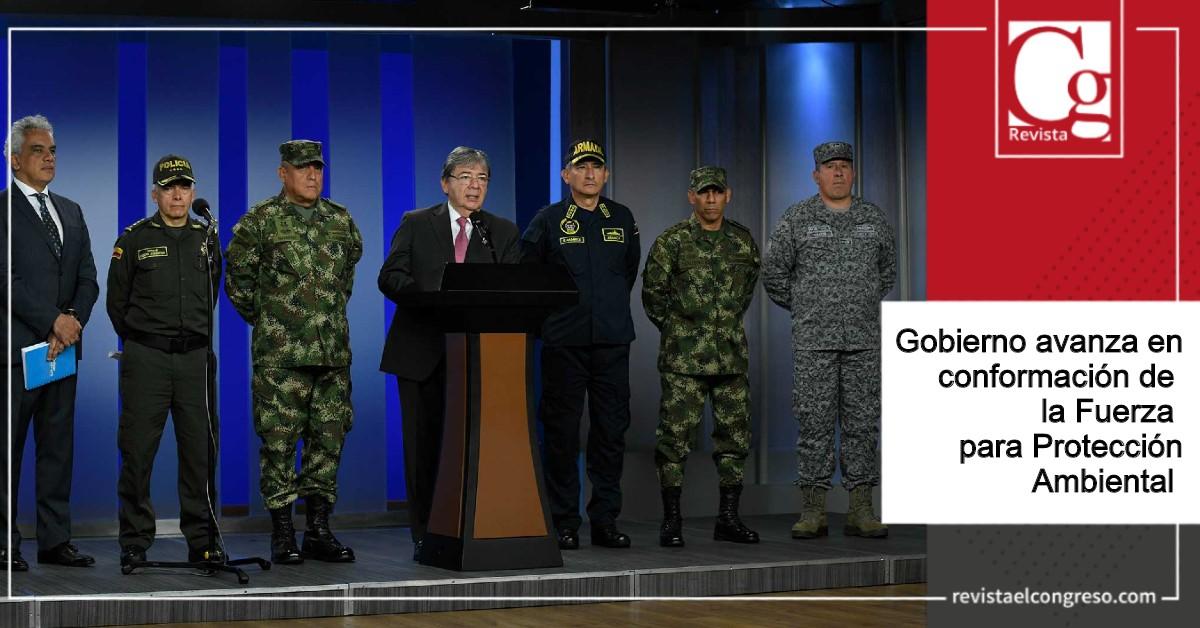 Gobierno avanza en conformación de la Fuerza para Protección Ambiental