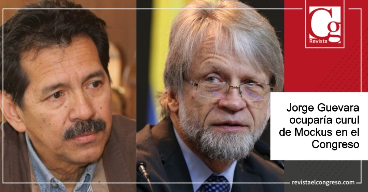Jorge Guevara ocuparía curul de Mockus en el Congreso