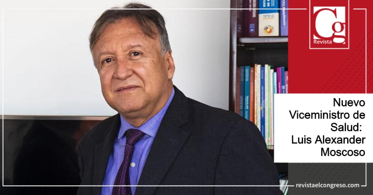 Nuevo Viceministro de Salud: Luis Alexander Moscoso