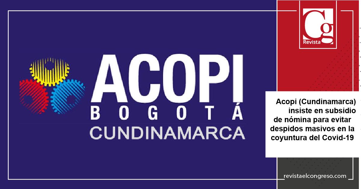 ACOPI, Bogotá, Colombia