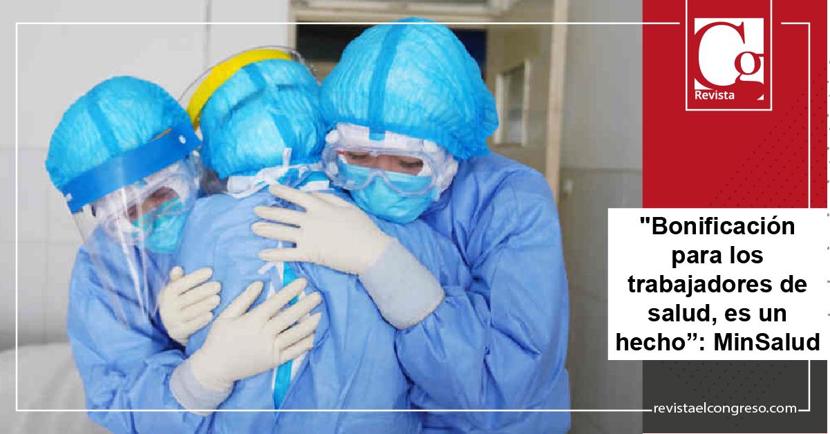 """""""Bonificación para los trabajadores de salud, es un hecho"""": MinSalud"""