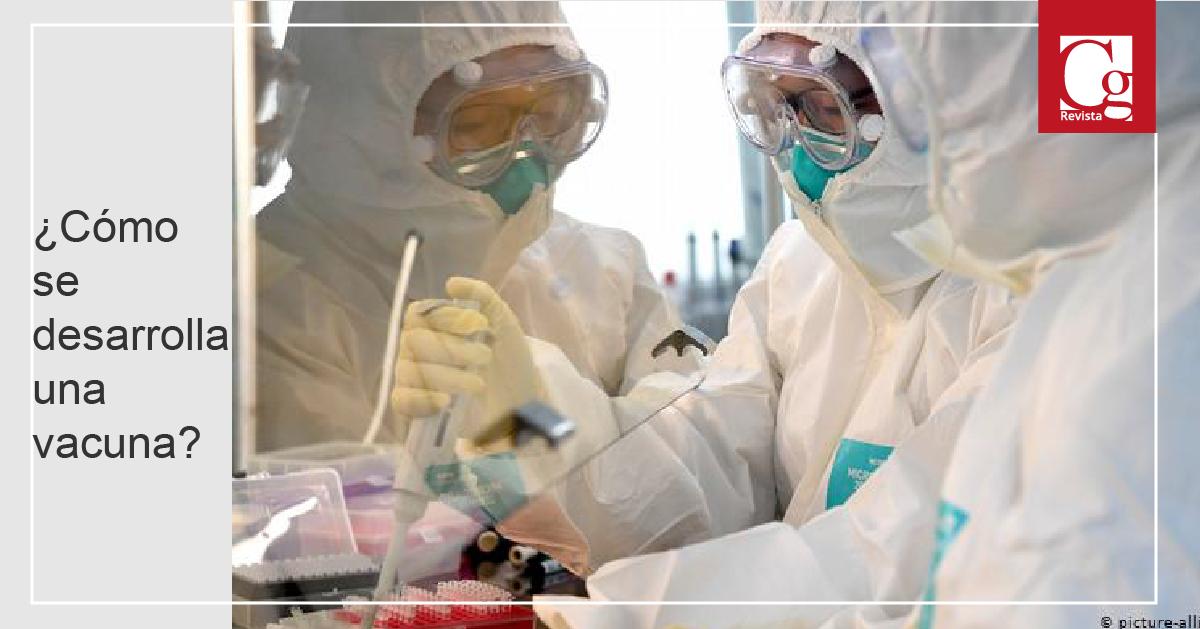 ¿Cómo se desarrolla una vacuna?