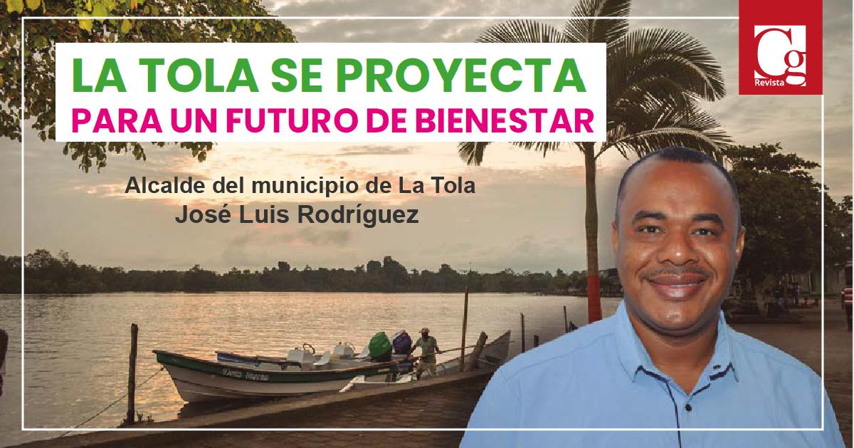 Alcalde del municipio de La Tola José Luis Rodríguez