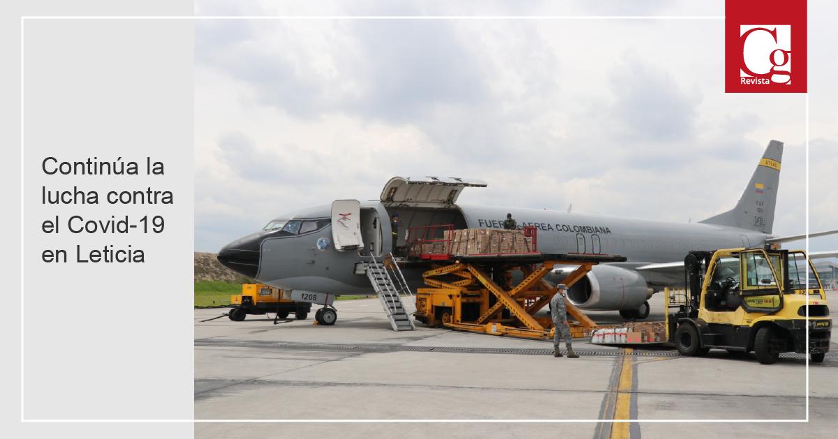Continúa la lucha contra el Covid-19 en Leticia