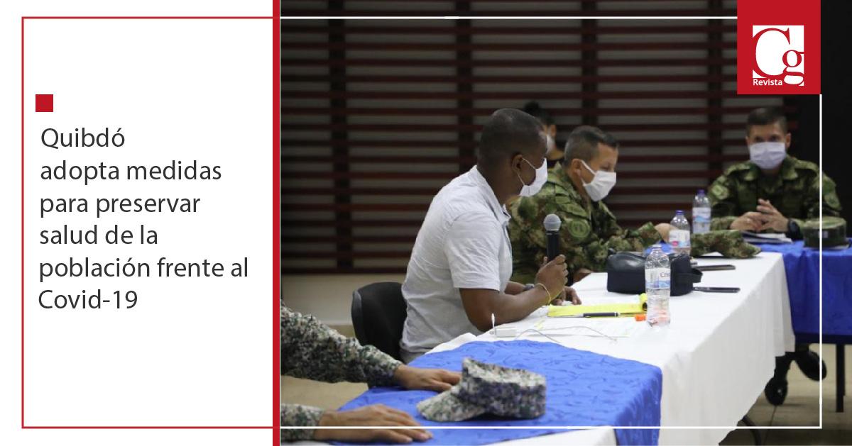 Quibdó adopta medidas para preservar salud de la población frente al Covid-19