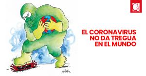 El coronavirus actualidad no da tregua en el mundo_Gerinedo