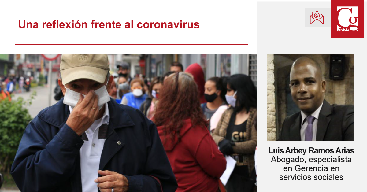 una reflexi´pon sobre el coronavirus