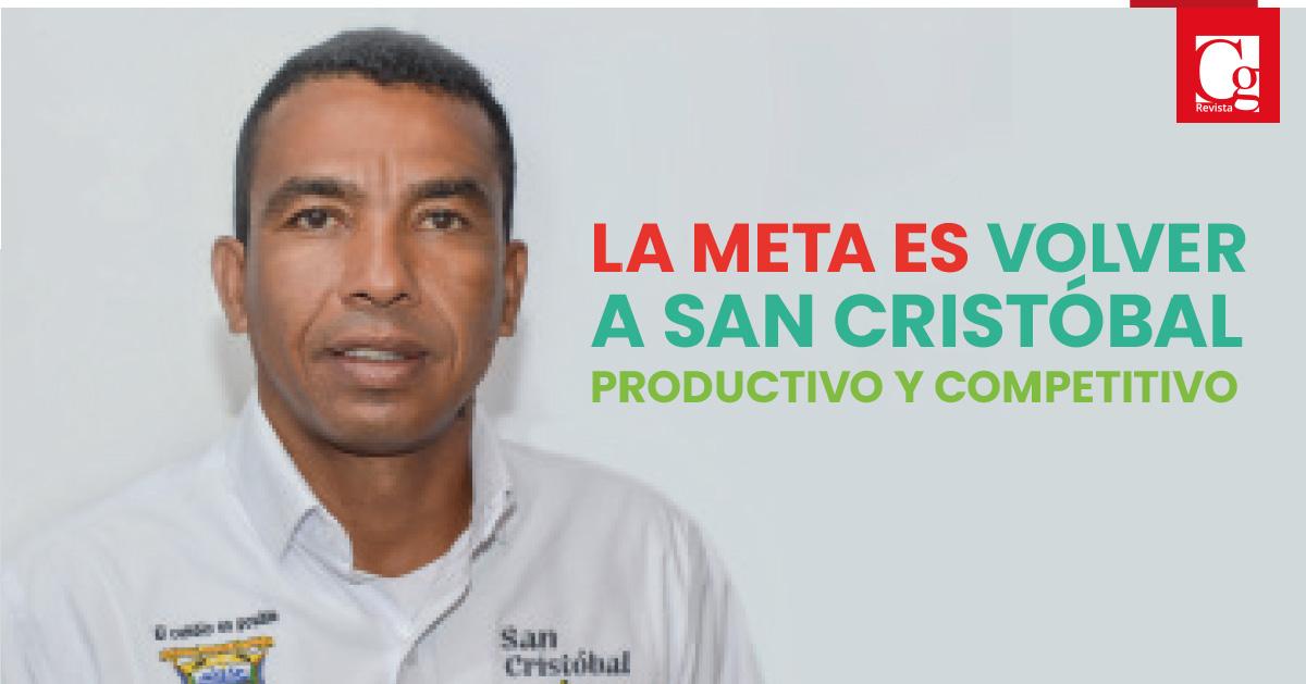 La meta es volver Ssn Cristóbal productivo y competitivo.