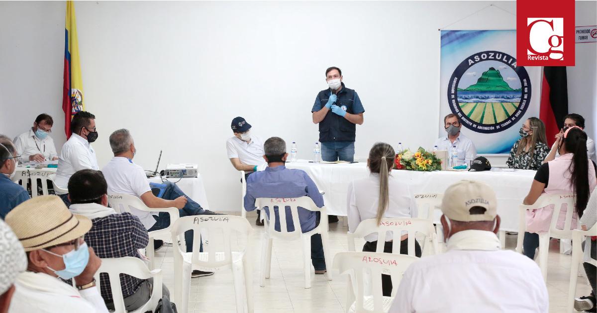 Productores de arroz serán escuchados por gobernador de Norte de Santander
