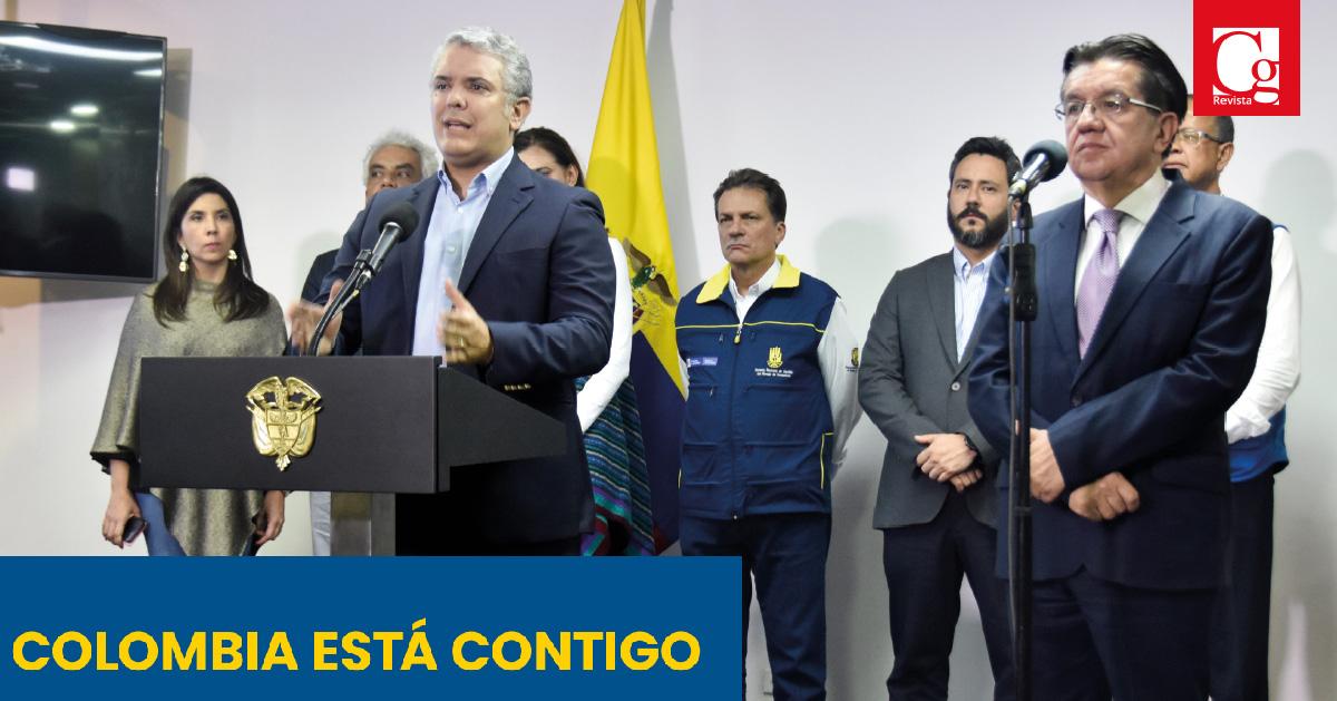 Colombia está contigo