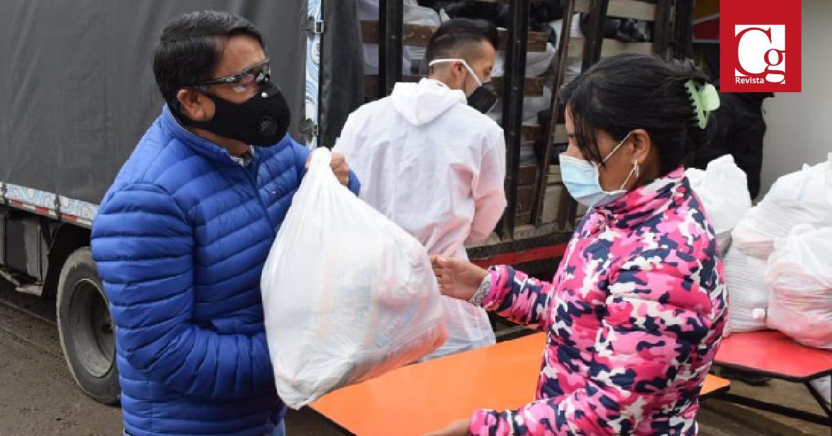 La Alcaldía de Pasto entrega más de 1.500 ayudas humanitarias
