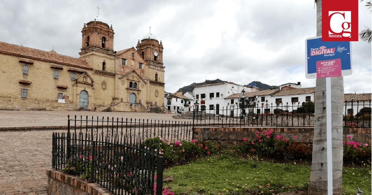 Avanza en Boyacá la instalación de zonas digitales urbanas