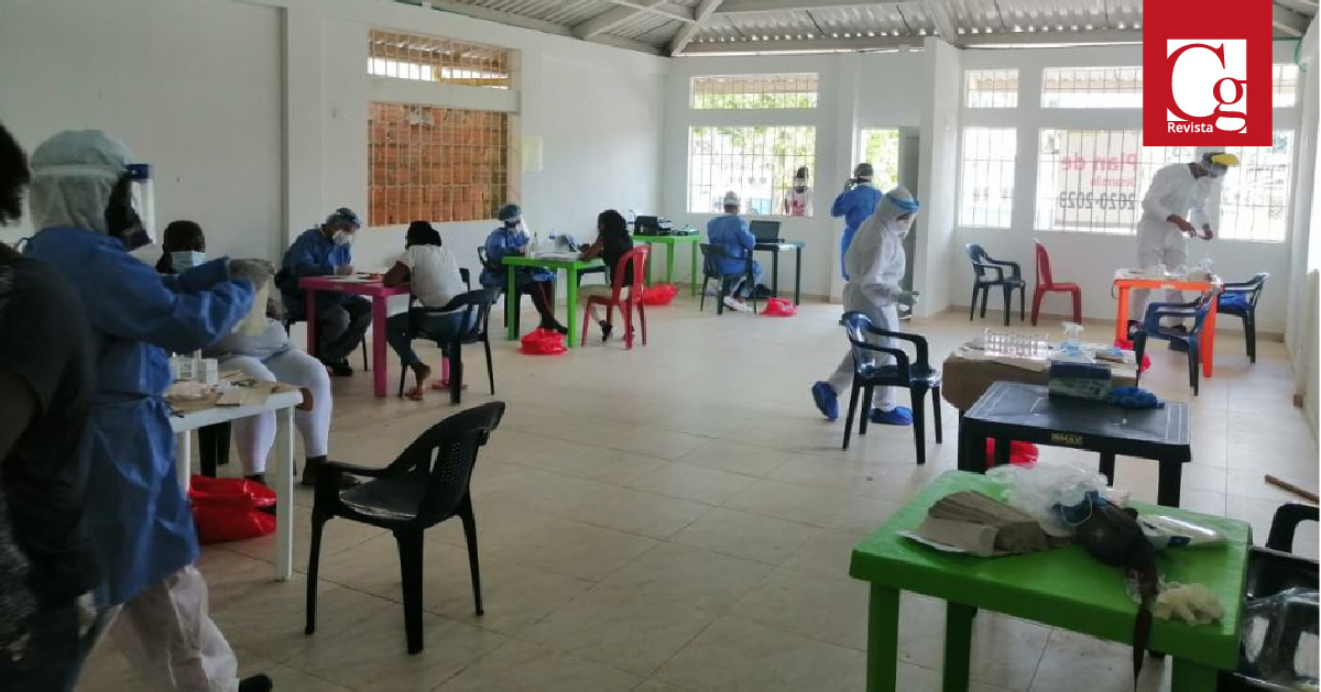 Chocó realiza toma de muestras para prevenir contagios por Covid-19