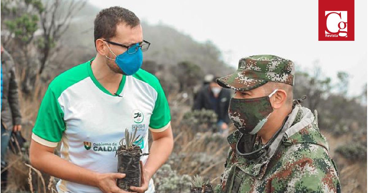 Gobernación de Caldas y Ejército se unen para preservar el medio ambiente