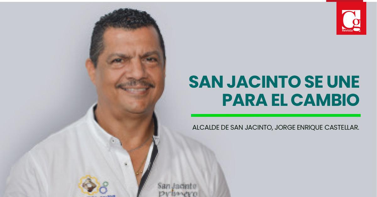 San Jacinto (Bolívar) se une para el cambio