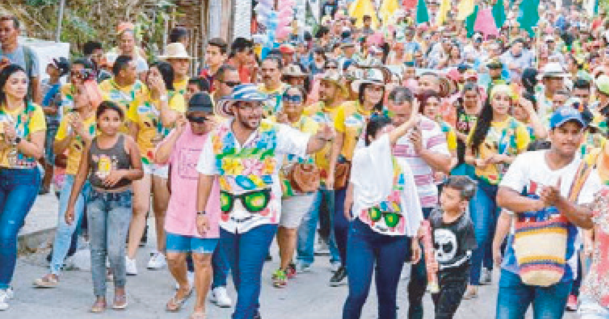 Recuperación de las tradiciones carnavaleras en Ovejas con el Carnaval de la Inclusión 2020
