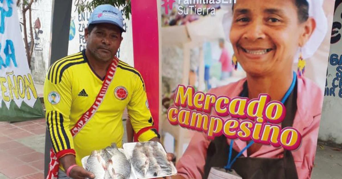 Mercado Campesino, Programa Familias en su Tierra FEST V