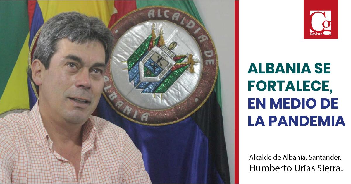 Alcalde de Albania, Santander, Humberto Urias Sierra