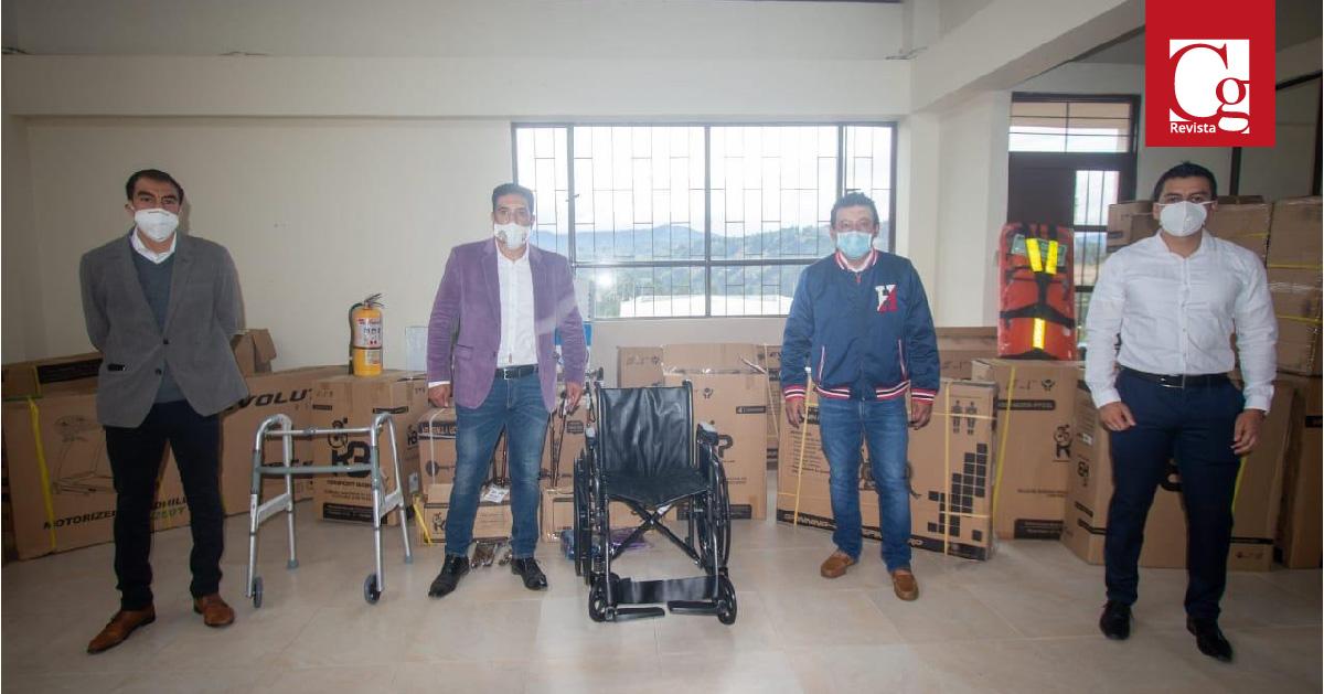 Nariño entrega dotaciones a Centros Vida y Centros de Bienestar para adultos mayores