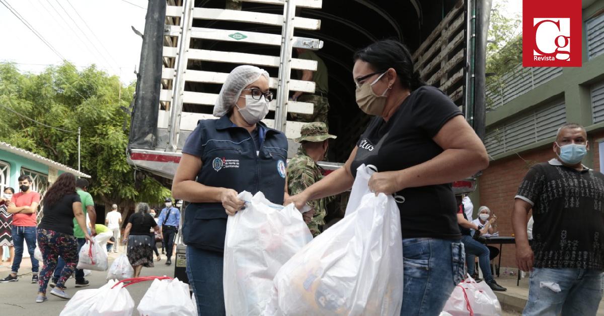 Se entregaron más de 4.600 ayudas humanitarias en Cúcuta