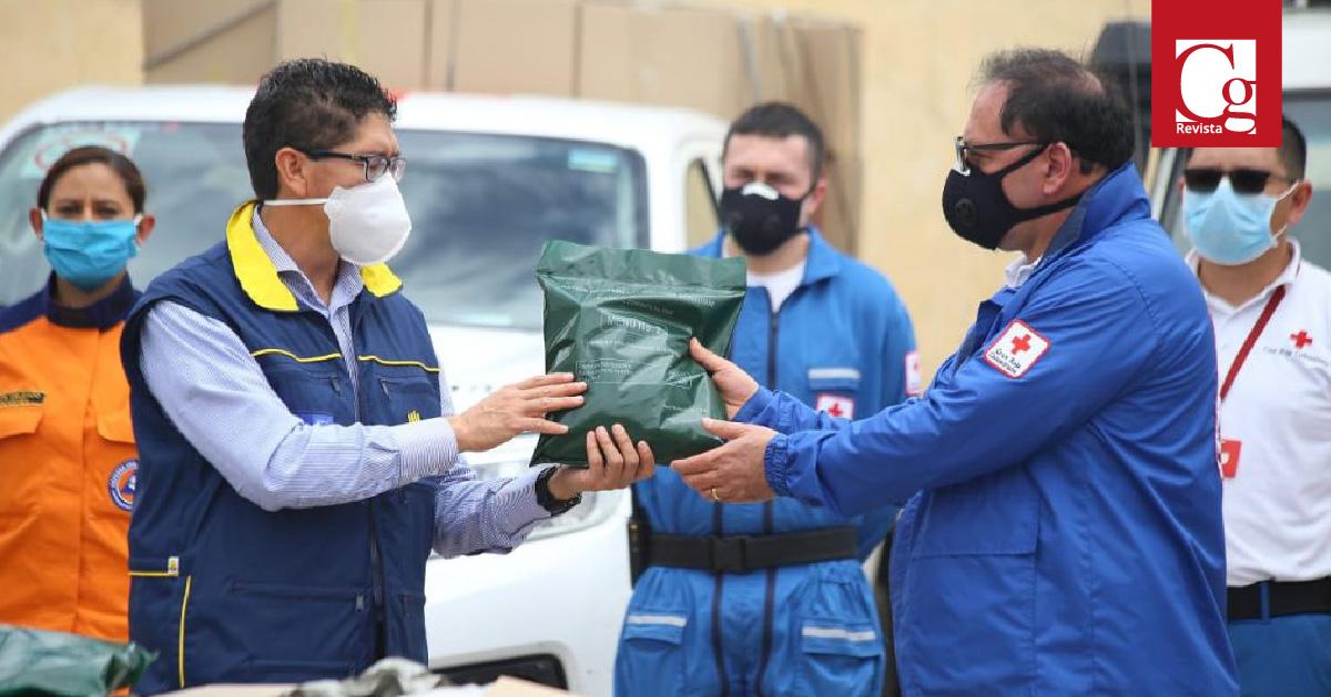 Gobernación de Boyacá entregó raciones alimentarias a organismos de socorro
