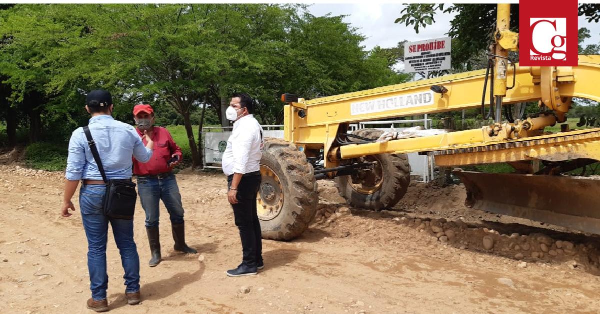 Gobernación de Casanare mejora estado de vías en zonas rurales