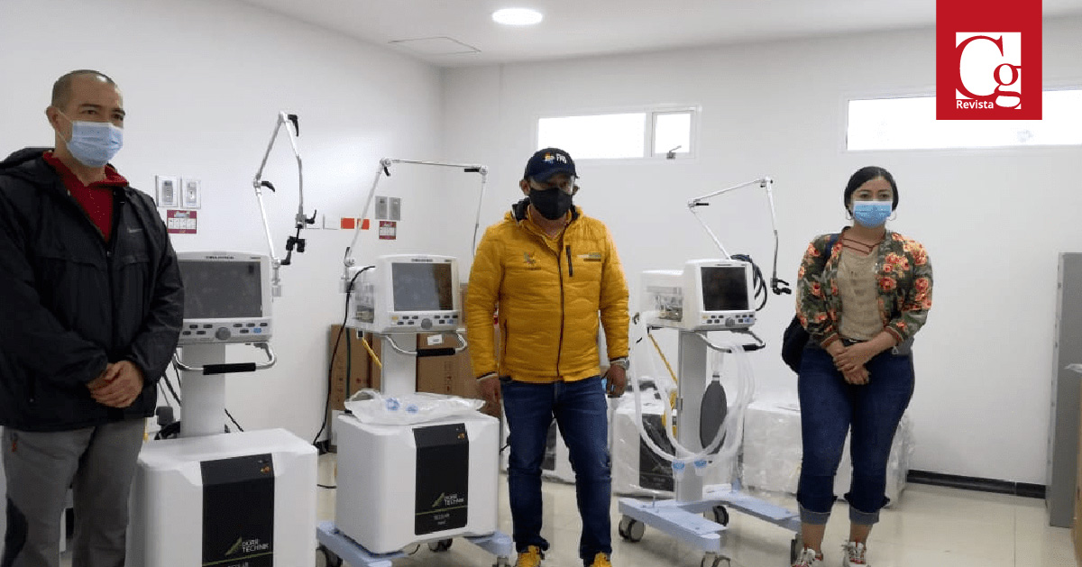 Red hospitalaria de Nariño se fortalece con 30 ventiladores para UCI
