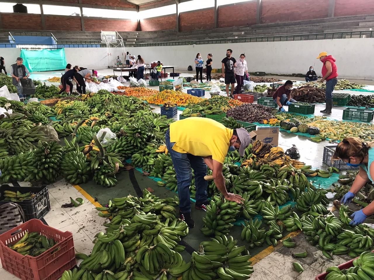 Por su producción y variedad al municipio se le considera la despensa agrícola de Colombia.