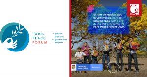 Plan Nacional de Música para la Convivencia seleccionado dentro del París Peace Forum