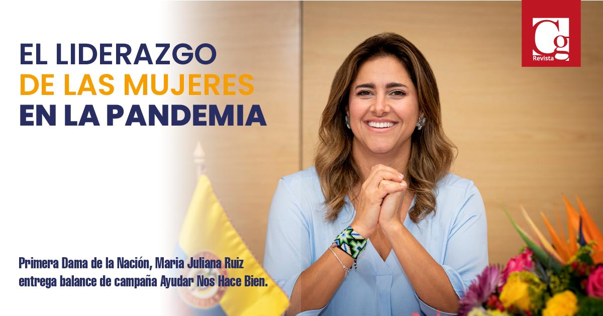 Primera Dama de la Nación, Maria Juliana Ruiz entrega balance de campaña Ayudar Nos Hace Bien