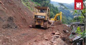 INVÍAS ordena cierre de vía en Antioquia, para garantizar una movilidad segura
