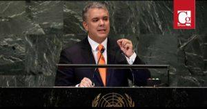 Duque se prepara para la Asamblea de las Naciones Unidas