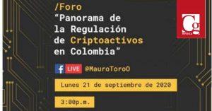 Regulación de Plataformas de Criptoactivos en Colombia