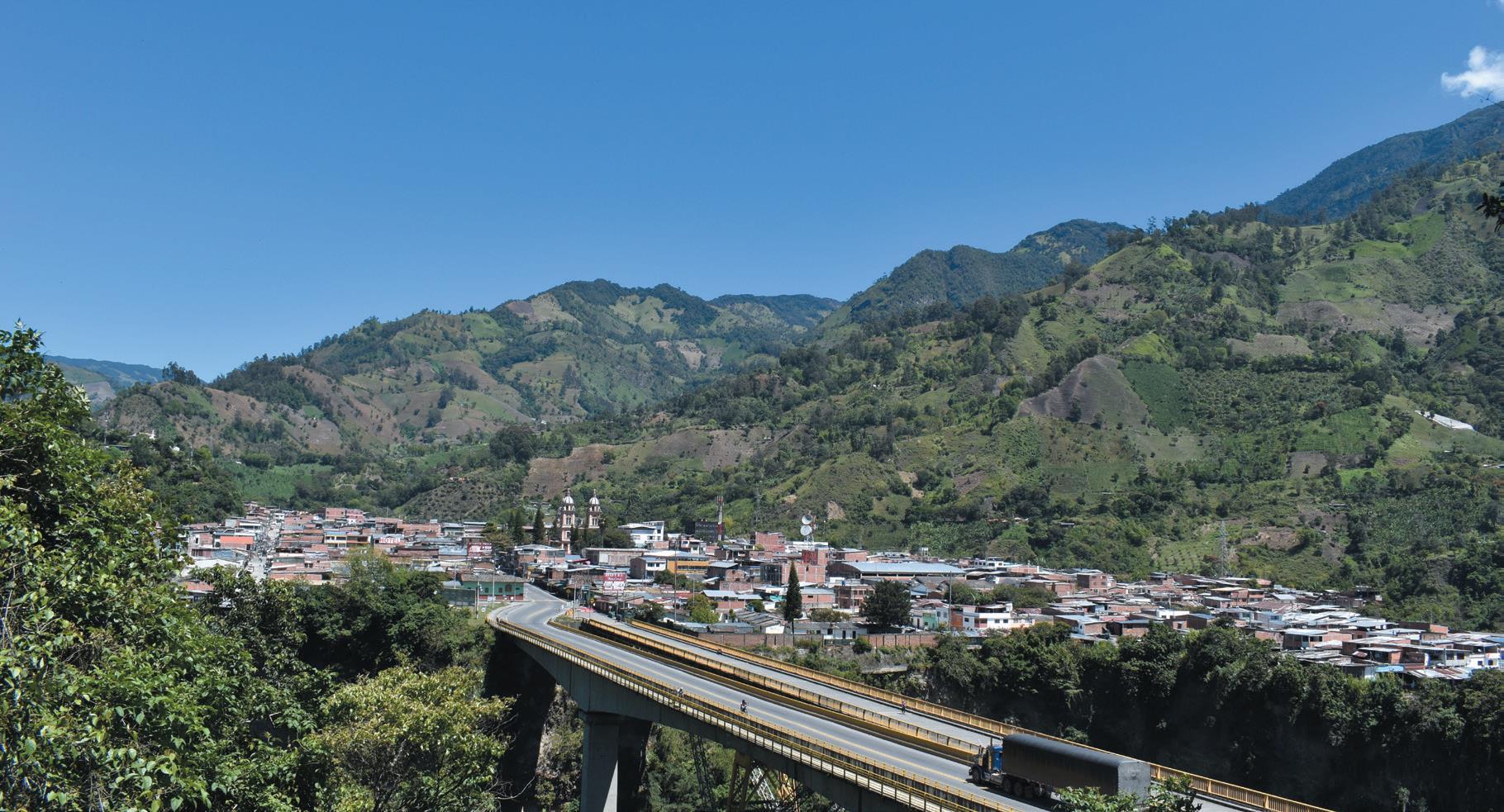 La entrada en servicio del Túnel de La Línea significará un gran desarrollo económico y turístico para el municipio de Cajamarca.