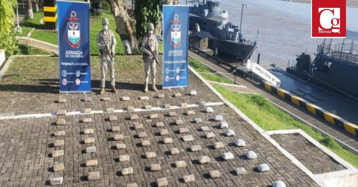 Armada de Colombia incauta más de 160 mil dosis de Marihuana en Puerto Leguizamo, Putumayo