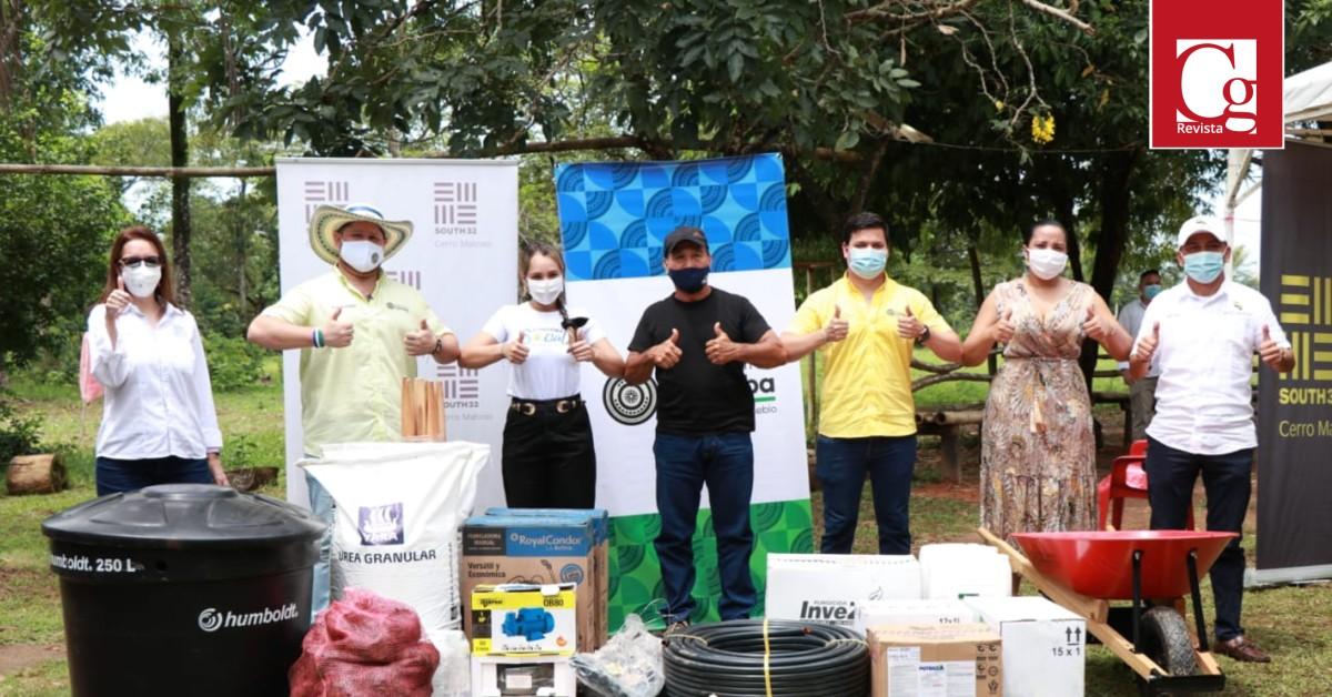 Gobernación de Córdoba selló alianza por la seguridad alimentaria en Cerro Matoso