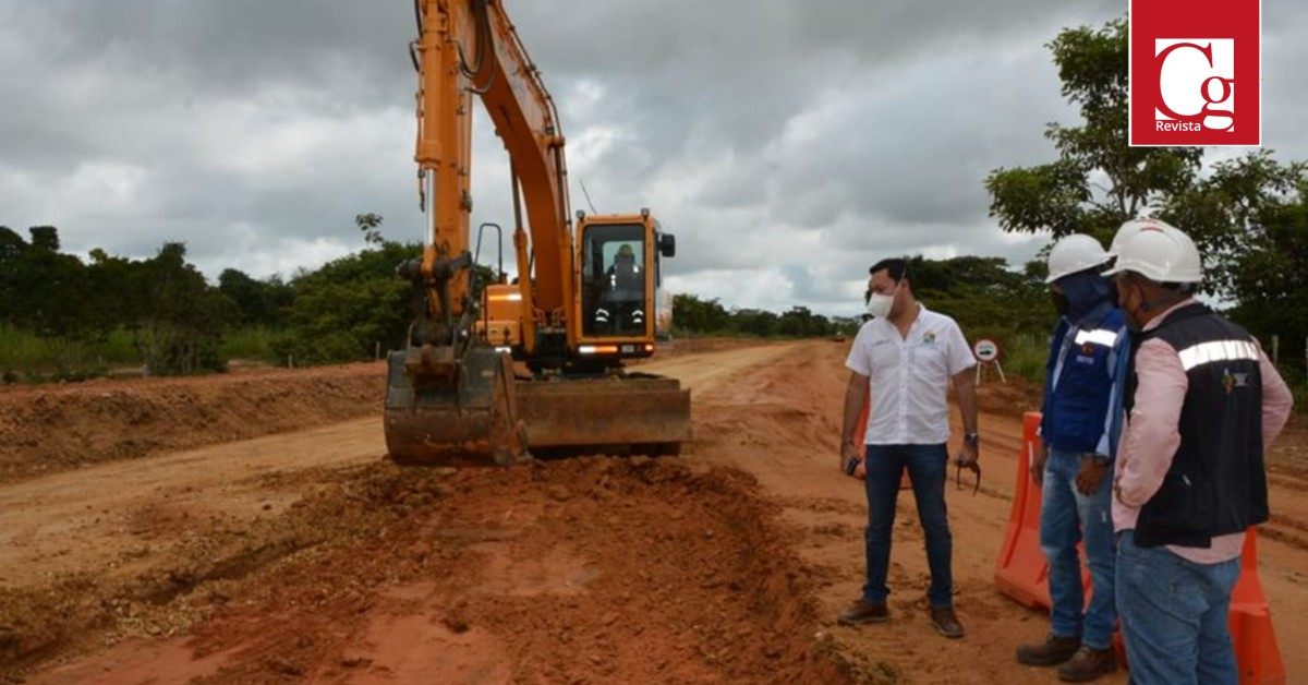 Sucre avanza en la vía San Onofre-Berrugas