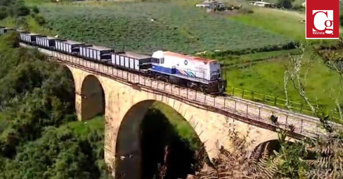 Corredor férreo Bogotá - Belencito va en un 82% en meta de movilización de carga para el 2020