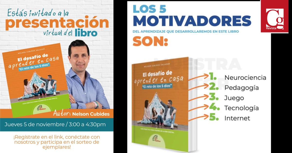 """El concejal Nelson Cubides presenta su libro """"El desafío de aprender en casa"""""""