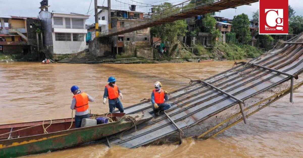 Gobierno nacional inicia trabajos para recuperar la conectividad vehicular, fluvial y peatonal del Chocó
