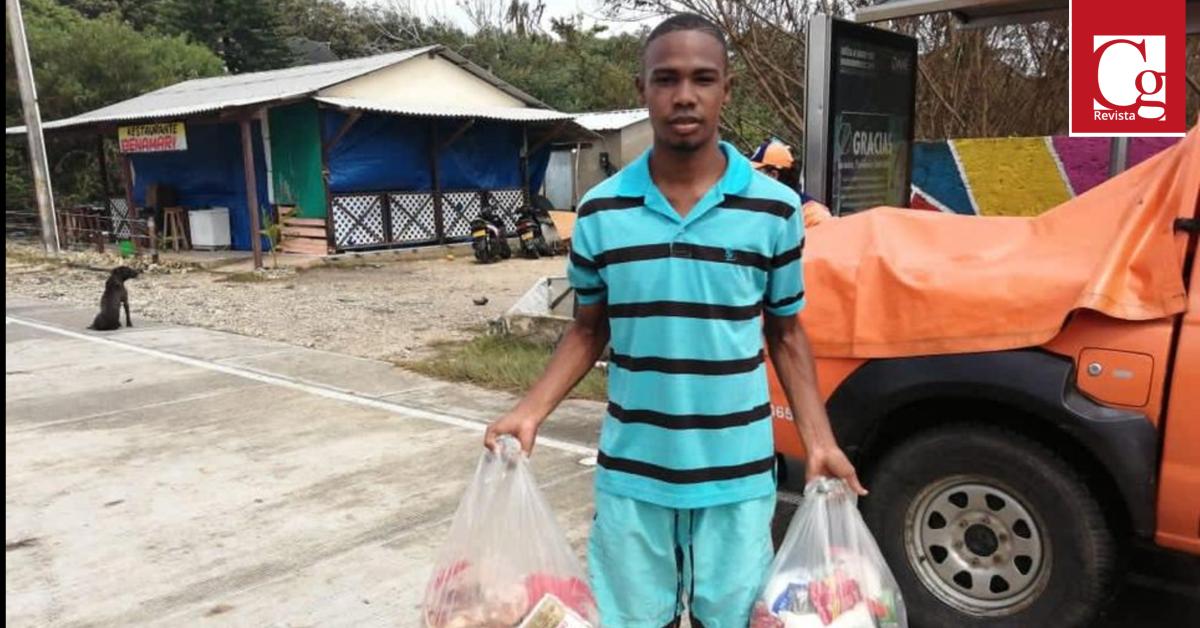 Se buscan ayudas alimentarias por Huracán ETA en San Andrés